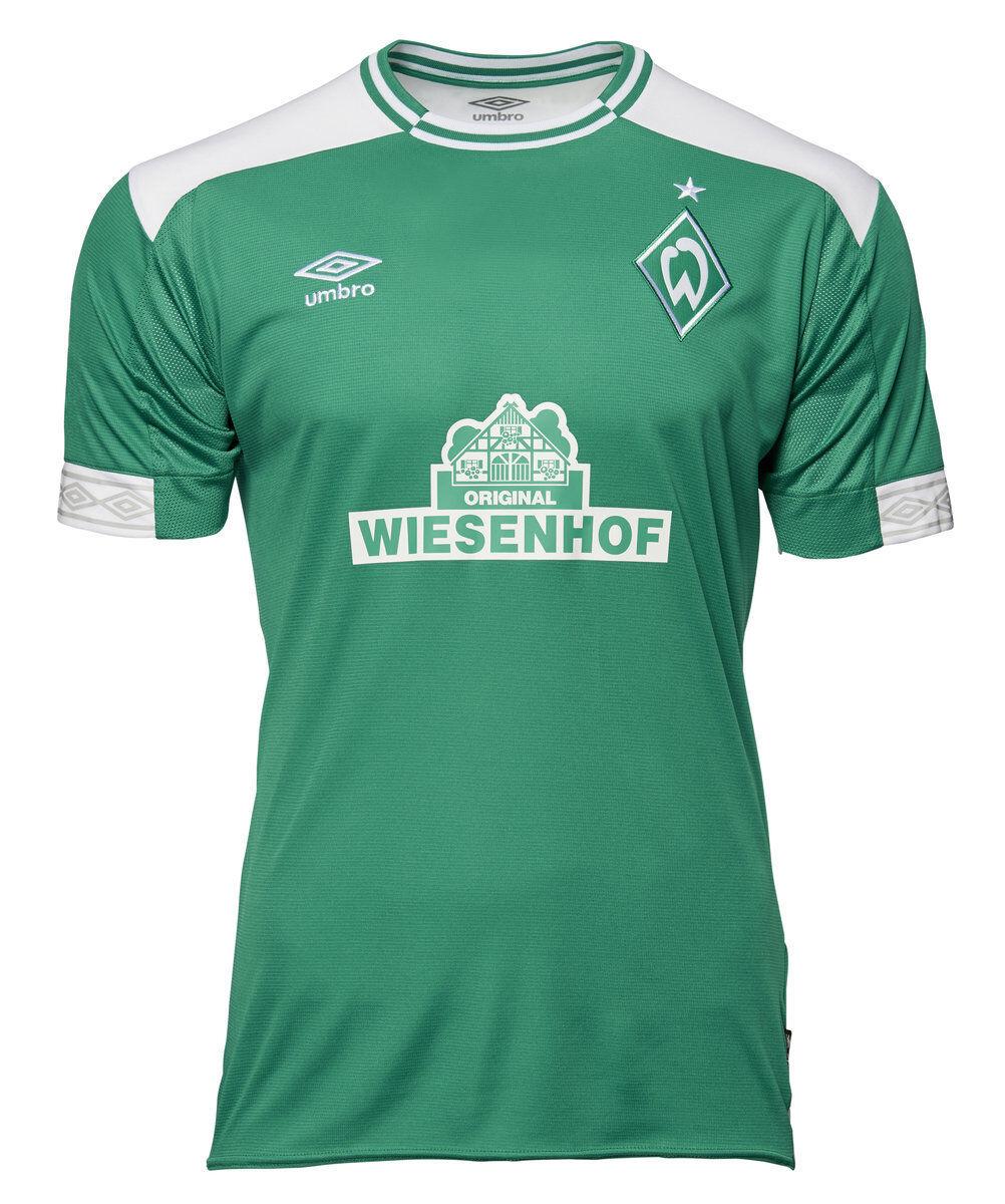 Umbro Fußball SV Werder Bremen WB Heimtrikot 2018 2019 Home Trikot Kinder