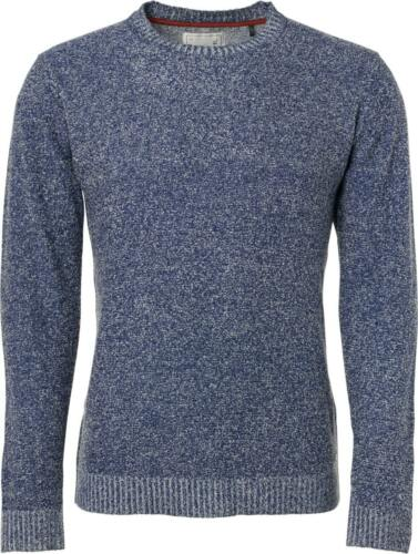 No Excess Herren Pullover Rundhals plated boucle knit Herbst
