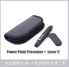 #7078 Wireless USB Word PowerPoint Presenter PPT Teach Red Laser Pointer Pen PC