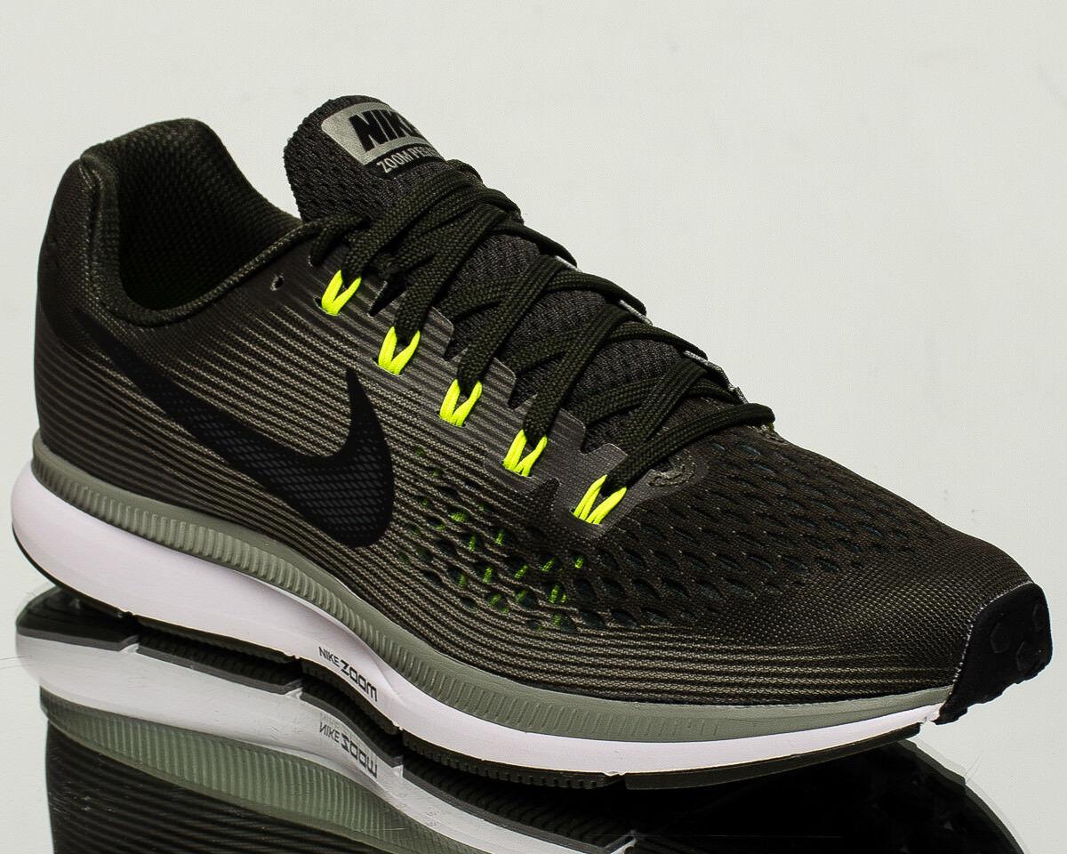Nike Air Zoom Pegasus 34 homme fonctionnement courir sneakers NEW sequoia  noir  880555-302