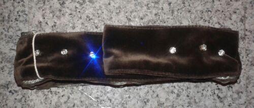 impreziosito velluto cioccolato Mini Syraka Elena color in borsa xqXIwq1F