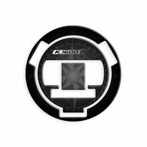 ADESIVO TAPPO BENZINA KEYLESS 3D NERO FITS BMW 1600 K GT// GTL 2010-2018
