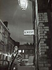 DAVID BOWIE  ZIGGY STARDUST LAMINATED PRINT HEDDON STREET style 3