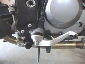 2002  to 2012 DL1000 V-Strom Foot Peg and Control Lowering Kit