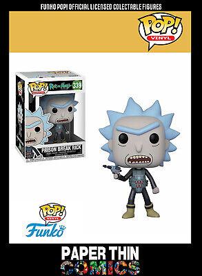 FUNKO Rick /& Morty evasione Rick #339 Figura in vinile con licenza ufficiale