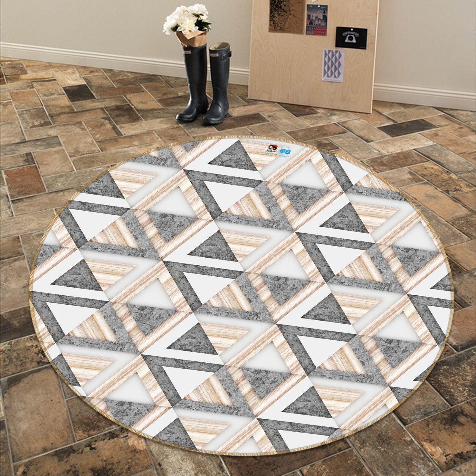 3d triangolo marmo 7 antiscivolo tappeto bagagliaio giri elegante TAPPETO de
