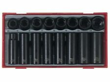 TENG TOOLS 1/2 DRIVE AIR IMPACT SOCKET SET IN CASE 13mm - 24mm