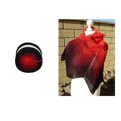 Lacegarn Lady Dee`s Traumgarn 250g//1000m Fb 15 traumhafter Farbverlauf Bobbel