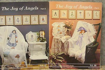 The Joy of Angels Part 1 & 2 Booklets by Douglas Designs