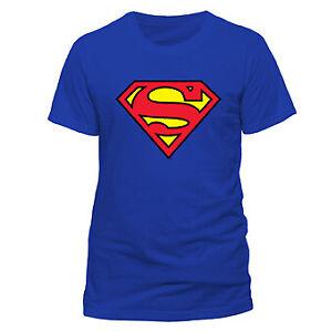 Superman Logo T-Shirt Uomo