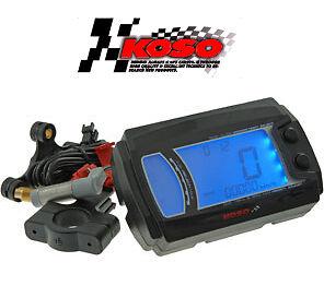 Compteur Digital KOSO XR-SRN  XRSRN scooter ATV quad enduro moto 116x75x32 mm