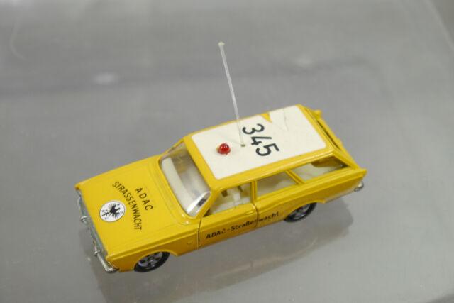 SIKU V284 V313 Ford 17 M Turnier ADAC Straßenwacht  345 gelb  8cm (K66) #5
