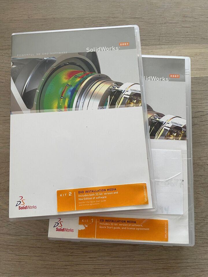 Solidworks 2007, 3d tegneprogram
