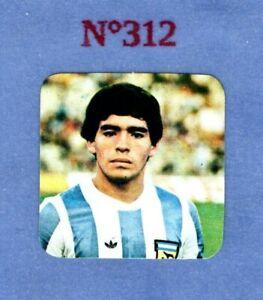 Figurine-MARADONA-panini-stickers-n-312-ARGENTINA-MARADONA-Rookie-1979-80-RARE