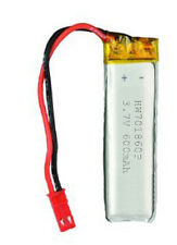 1x LiPo Akku 600 mAh 3,7V passend für UDI RC U818 U818A U817 U817A Quadrokopter