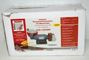 Holzmann-Maschinen-DSM150200W-230V-Dop-pel-schlei-fer-520W-150-mm-200mm