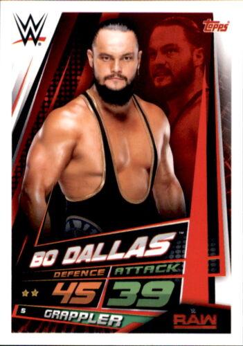 Wwe Slam Attax 12 Universe Carte 5-BO Dallas-Raw