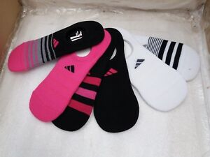 6267086465 Details about Adidas Womens Superlite Climalite Socks 6 Pairs Super No Show  UK 3.5-7.5