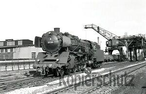 Original Dampflok NEGATIV - 01 168 in Hof, 1967