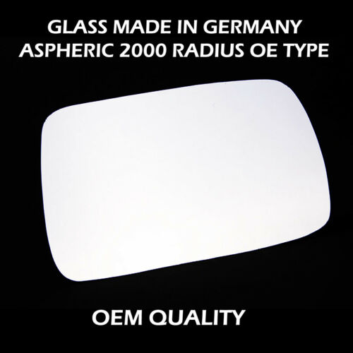 TOYOTA Yaris Door// wing Mirror Replacement Silver,RH Side,1999 to 2005