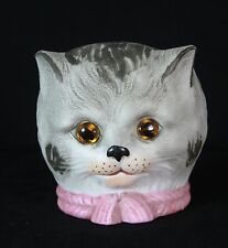 Antique German Cat Head Lantern c1915