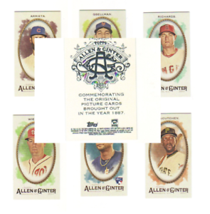 2017-Topps-Allen-amp-Ginter-Mini-A-amp-G-Back-Parallel-Cards-Choose-Card-039-s-1-350