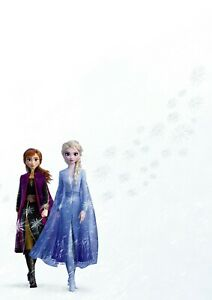 FROZEN DISNEY CHARACTERS MOVIE POSTER FILM A4 A3 ART PRINT CINEMA