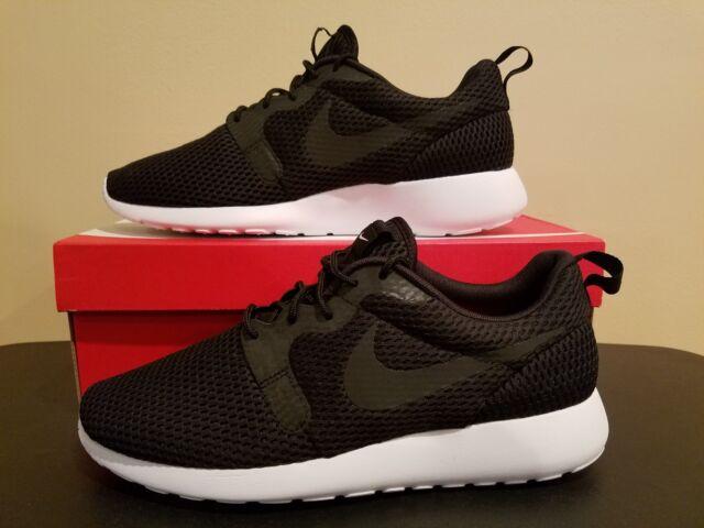 Nike Roshe One Hyp BR Mens Size 8.5 Model 833125 001 Black Running Shoe