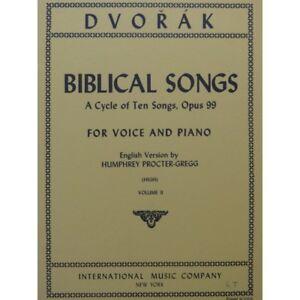 Dvorak-Antonin-Biblical-Songs-Chant-Piano-Volume-2-5-pieces-1967-partition-sheet