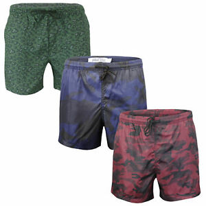 7918d60443 Mens Brave Soul Designer Swimwear Camo Print Short Leg Swim Shorts ...