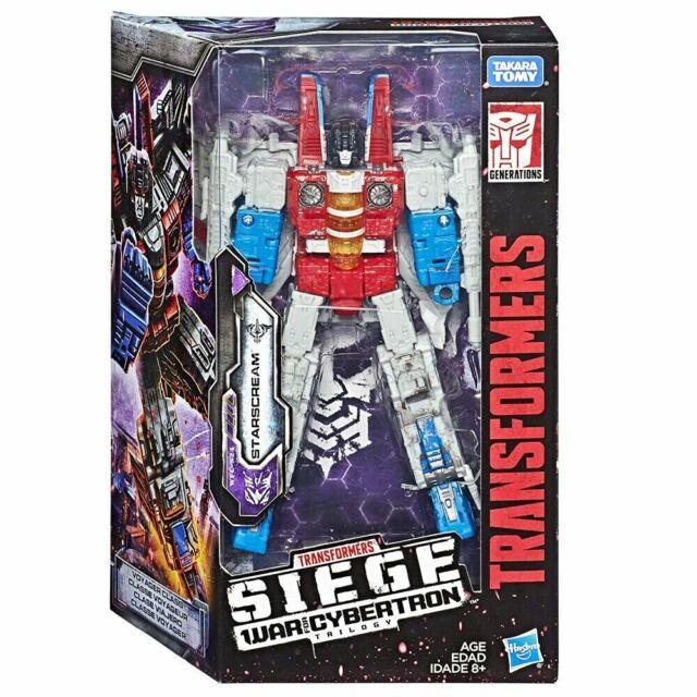 HASBRO Transformers SIEGE WAR FOR CYBERTRON VOYAGER [STARSCREAM] in stock