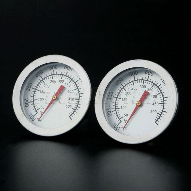 50-400℃ Stainless Steel BBQ Smoker Grill Thermometer Kitchen Temperature Gauge N