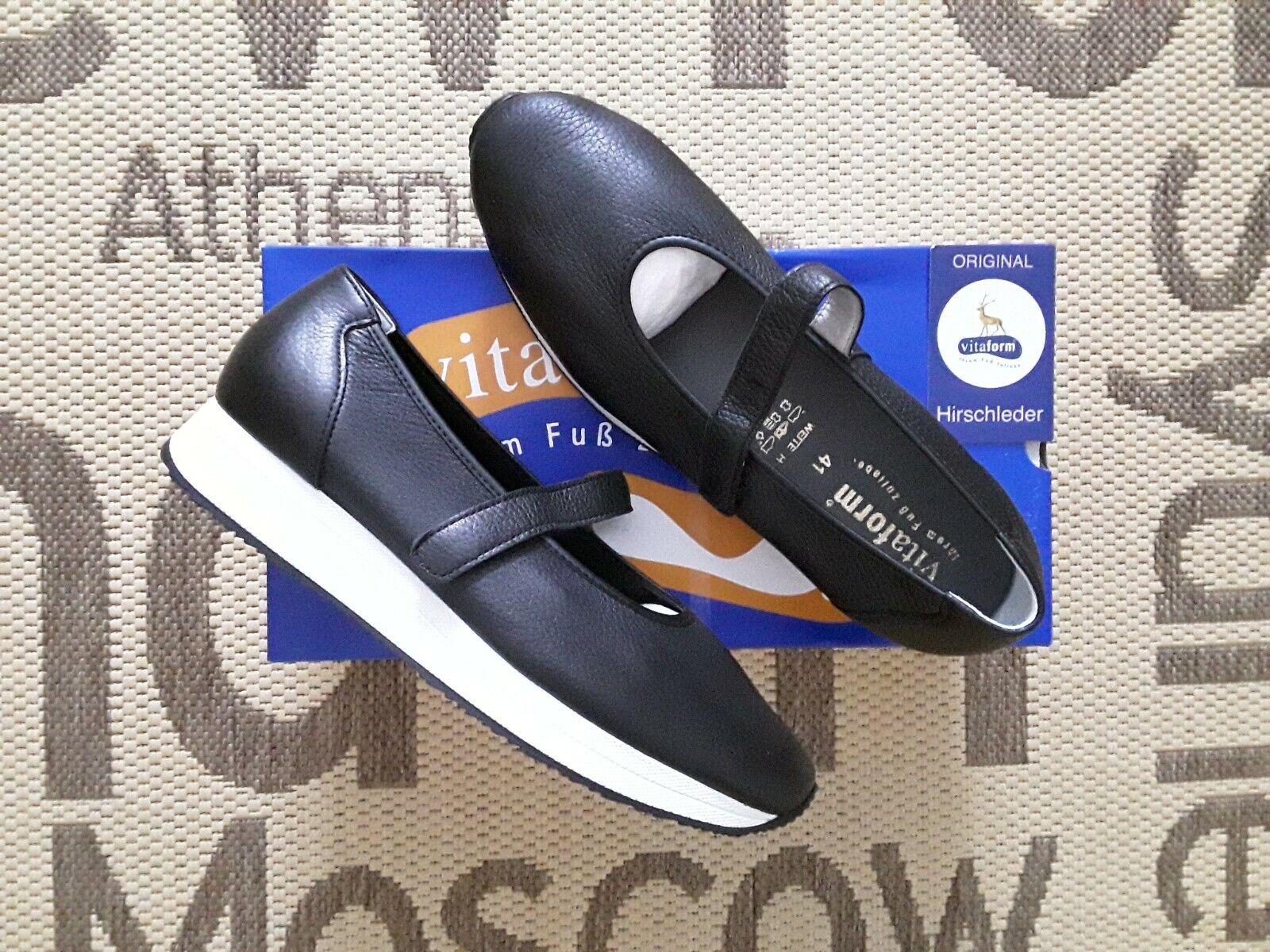 Schuhe, Leder Anti VITAFORM %%% NEU 41, Grosse Shock