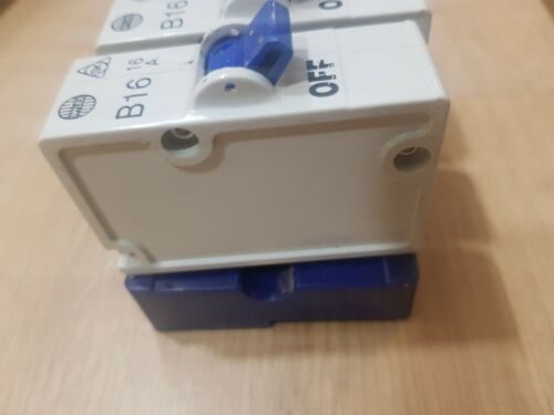 WYLEX PLUG IN MCB REPLACE REWIREABLE FUSES 16 AMP complete with shield