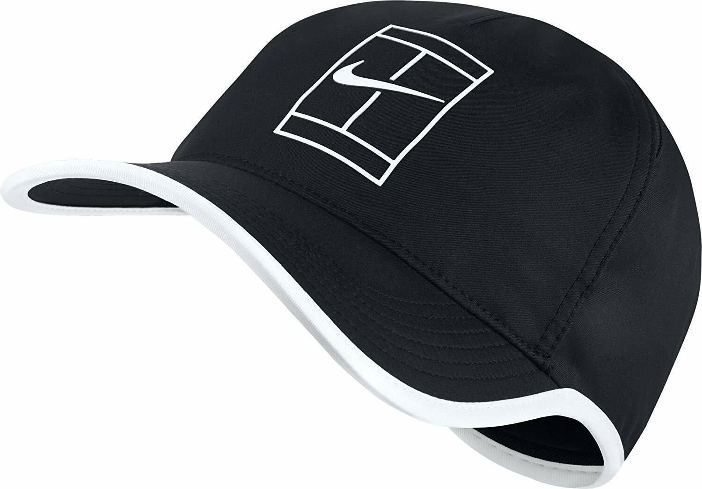 nuevo  tenis Nike Para Hombre Featherlite aerobill  Court Sombrero-Negro blancoo 864105-011  tiempo libre
