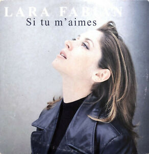 Lara-Fabian-CD-Single-Si-Tu-M-039-aimes-France-VG-VG