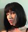 PERRUQUE-NOIRE-COURTE-SEXY-ADULTE-FEMME-BRUNE-WIG-CHEVEUX-DeGUISEMENT-BLACK-AFRO miniature 6