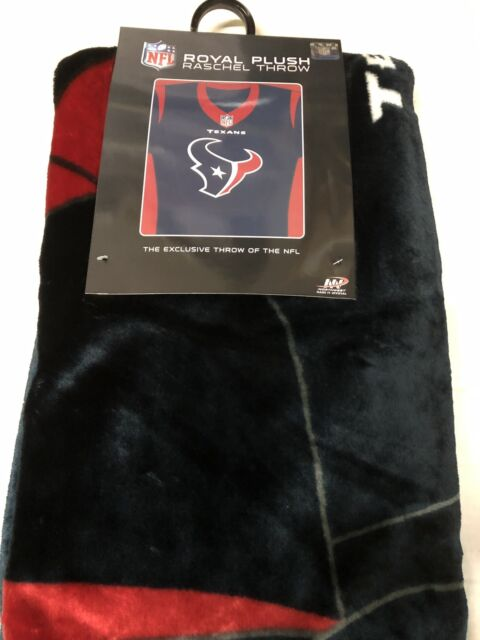 Buy NFL Houston Texans Northwest 50 X 60 Raschel Throw Jersey Style ... 987bb571e