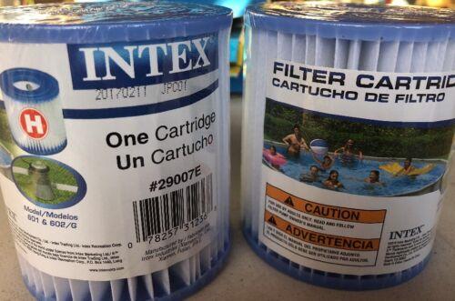 Intex Type H Cartouche de filtre pour au-dessus du sol piscine Pompes Pack 2