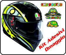 AGV Solun VR46 K-3 SV TOP ECE DOT Full-Face Motorcycle Helmet SM-2XL
