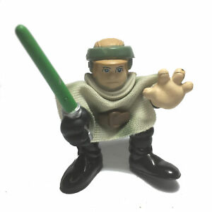 Star-Wars-Playskool-Galactic-Heroes-CHEWBACCA-2-034-Action-figure-w-lightsaber-Toy