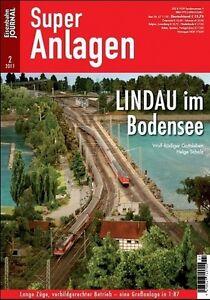Eisenbahn Journal - Lindau im Bodensee 2-2011 Super Anlagen