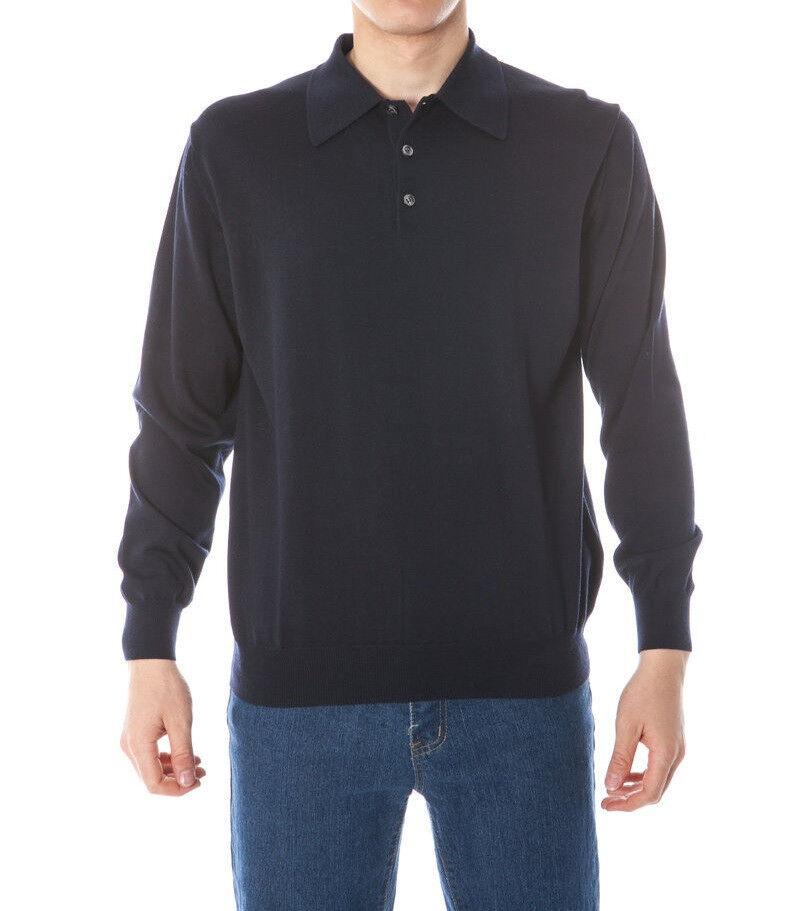 PKZ Herren Sweater Dunkelblau Gr. L NEU mit Etikett + Rechnung mit MwSt.