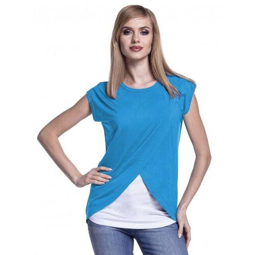 Mujer ropa de embarazo ropa de maternidad Camiseta de lactancia Camisa de manga