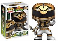 Funko Pop Television Power Rangers - White Ranger Vinyl Action Figure on sale