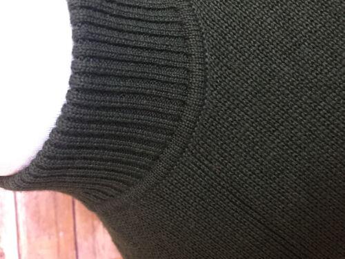Sweater Uld Poncho Mock Geyik Fringe Strik Cift Orange Trim Grøn Neck Print 1cX6nC4W
