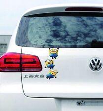 Sticker Stylish Car Decal Graphics Sticker - MINIONS - Hanging Gang