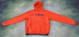 Details About Vintage Nike Ncaa Syracuse Basketball Hoodie Jacket Size M