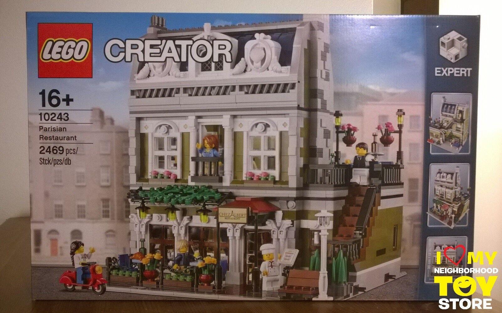 IN STOCK - LEGO 10243 CREATOR EXPERT PARISIAN RESTAURANT (2014) - MISB