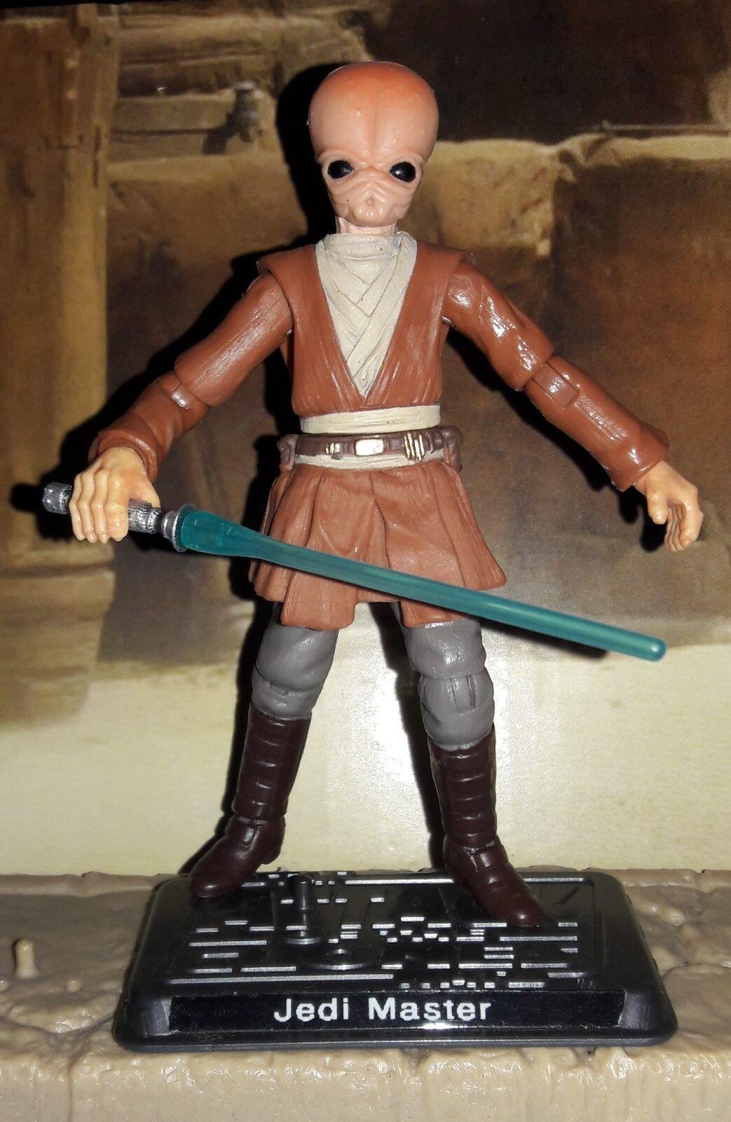 Star Wars CUSTOM Bith Jedi Master 3.75  Figure. Great Army Builder